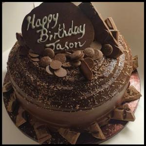 Chocolate bomb cake